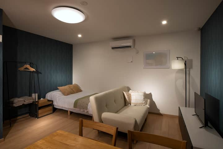New Apt♬2min from Tachiaigawa sta★Studio Room101