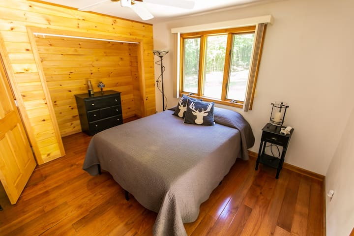 Main level Queen bedroom with access to master bath