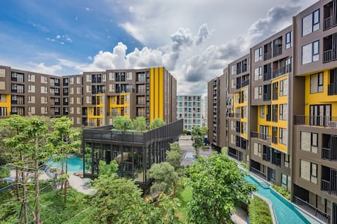New 1 bedroom next to Central Phuket Floreta #C264