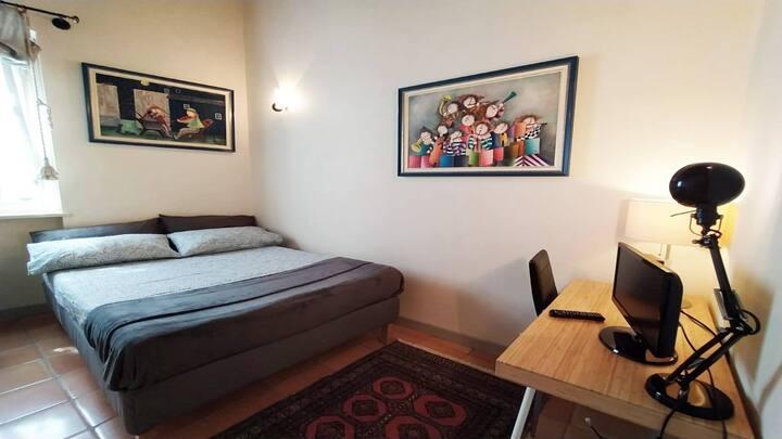 Ludovico -doppia con letto da 1 piazza e mezza