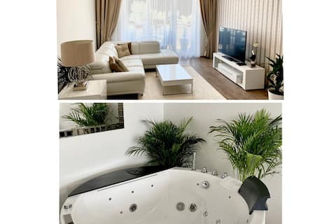 LUXURIOUS APARTMENT - 10 min from the CITY CENTER