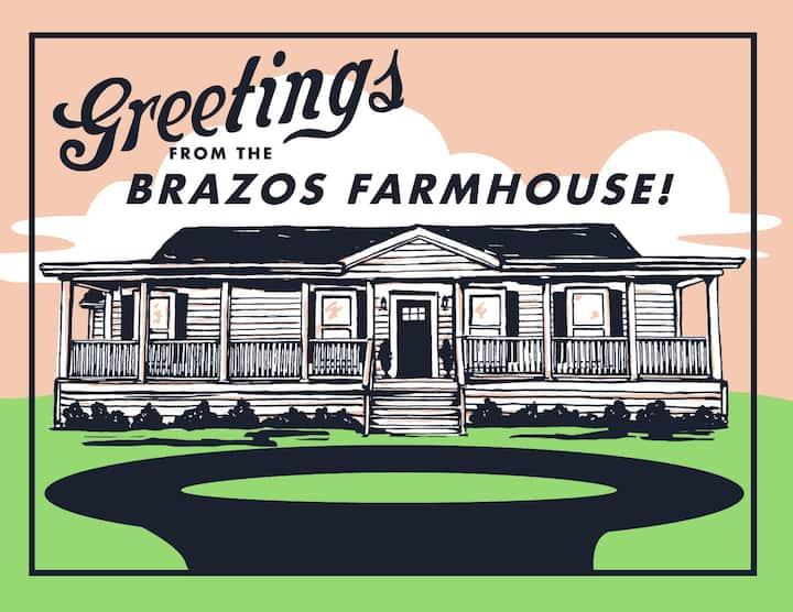 Brazos Farmhouse - 8 min from lake & town!