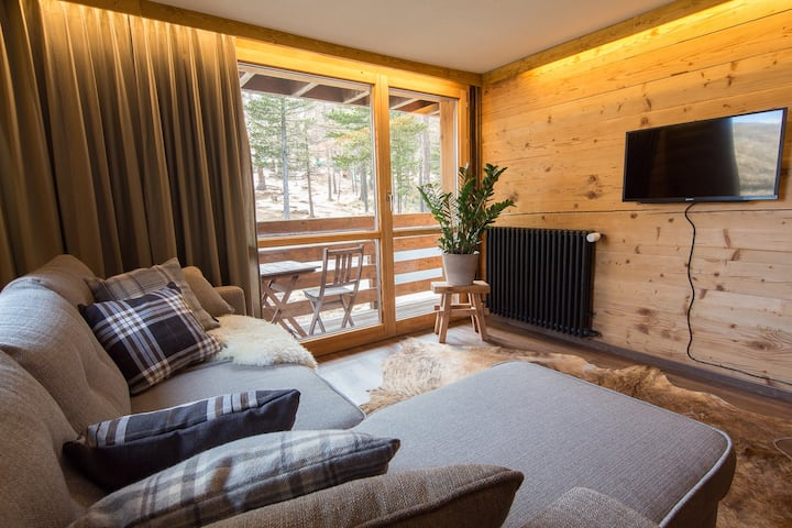Newly renovated cosy private apartment in Saas Fee