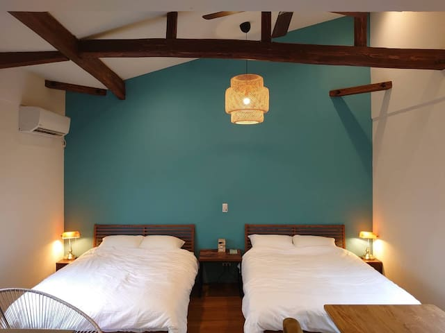 HyugaSurfcamp - Spacious house with relax moments