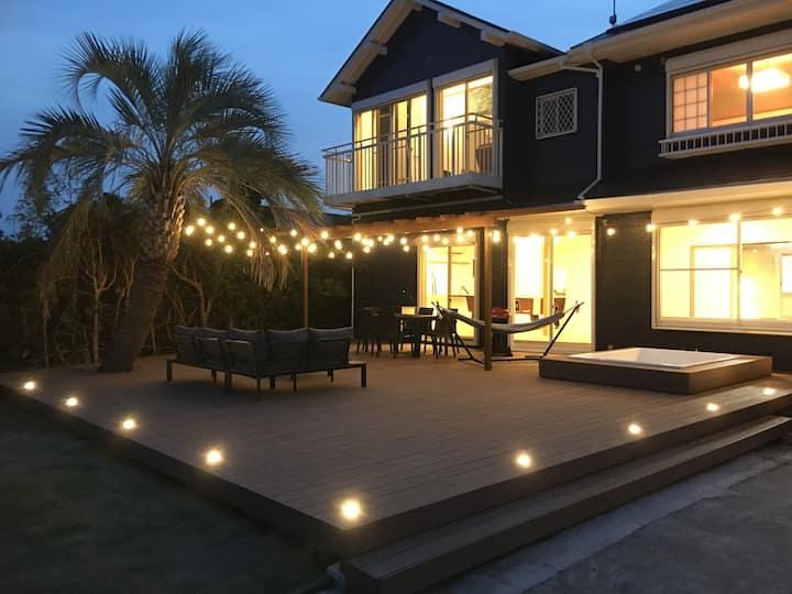 九十九里の海近プライベート空間を贅沢に一棟貸し切り! Private villa 九十九里