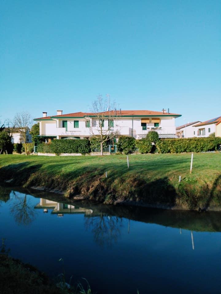Appartamentino sul fiume a Monastier