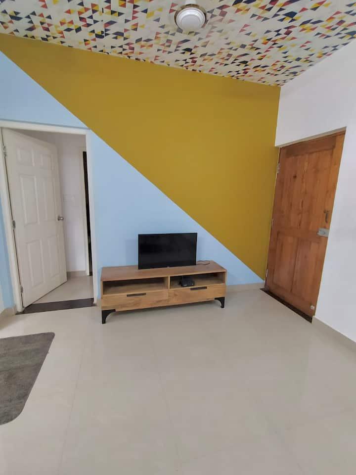 New 2BHK Apartment - F04 | Arpora | Nearby Beaches