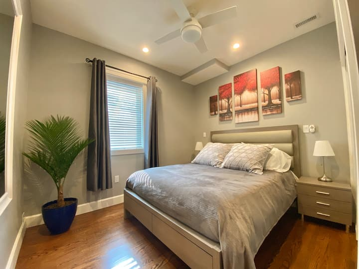New suite in remodeled home with private entrance