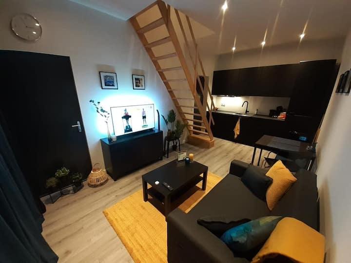 Appartement Deluxe, nabij centrum van Tilburg