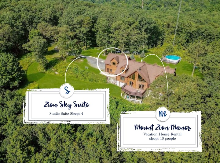 Zion Sky Suite - Hudson Valley on  40 acre estate