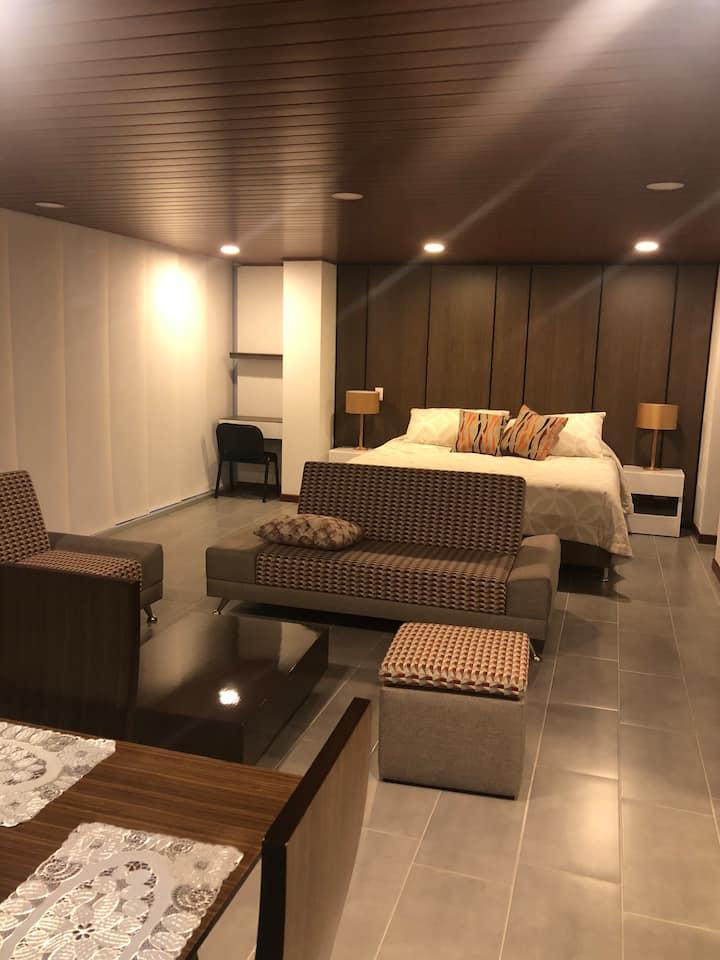 Comfortable studio-apartment close to the airport