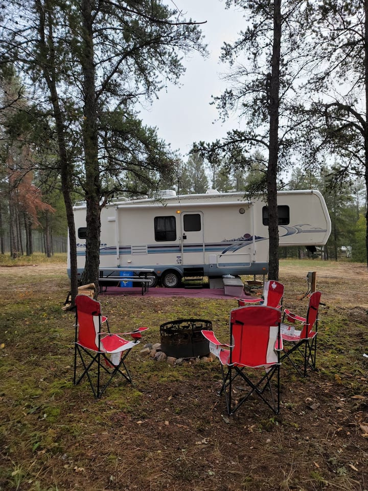 Woodlands Camping Retreat