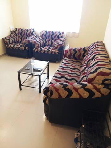 Airy, Peaceful Fully Furnished 2BHK Apartment