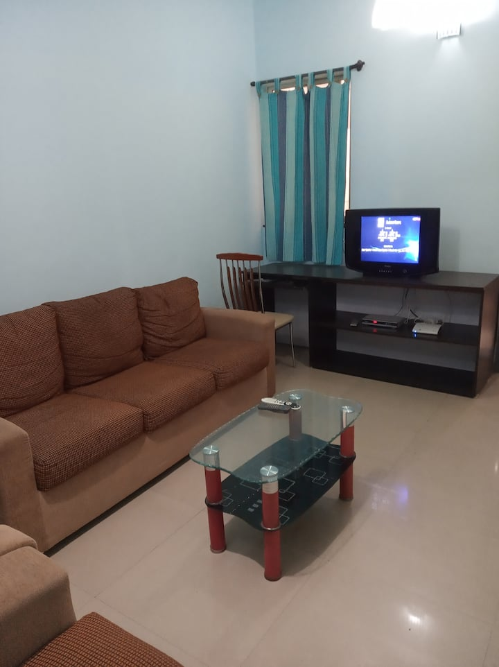 Work from Home in Budget 1.5 BHK Furnished Apt