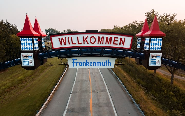 Perfect country location for visiting Frankenmuth
