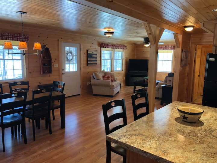 Cabin Living in the Lakes Region of Maine
