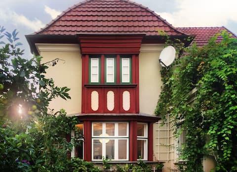 Schweriner Villa mit Garten