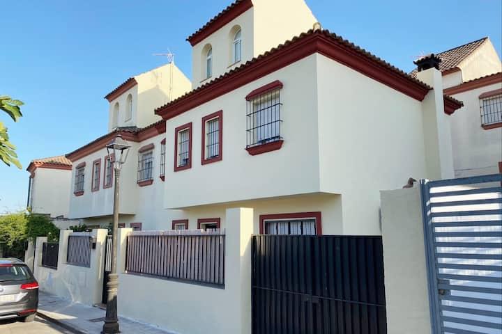 Casa Rural cercana centro de Sevilla.Wifi Salteras