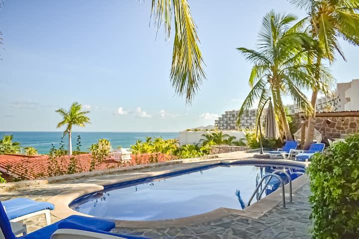 View of ocean Villa with pool/best views #2