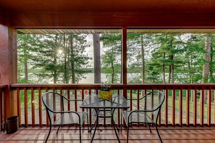 Lake Condo #4 - Balcony, Sauna, Club Room + More!