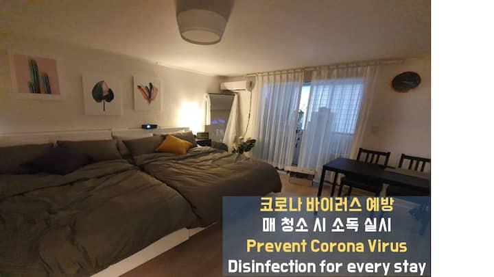 Anti-Corona - [합정역]Nearby Hongdae 최고급 High End H3