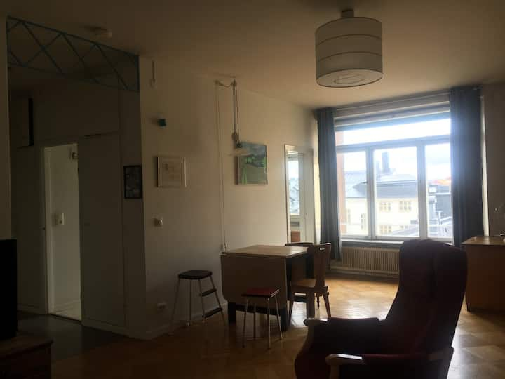 Nice studio with a view in SoFo, 45sqm