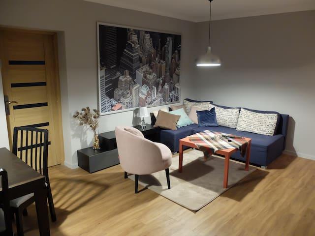 Apartament dla dwojga. Apartament dla businessu.