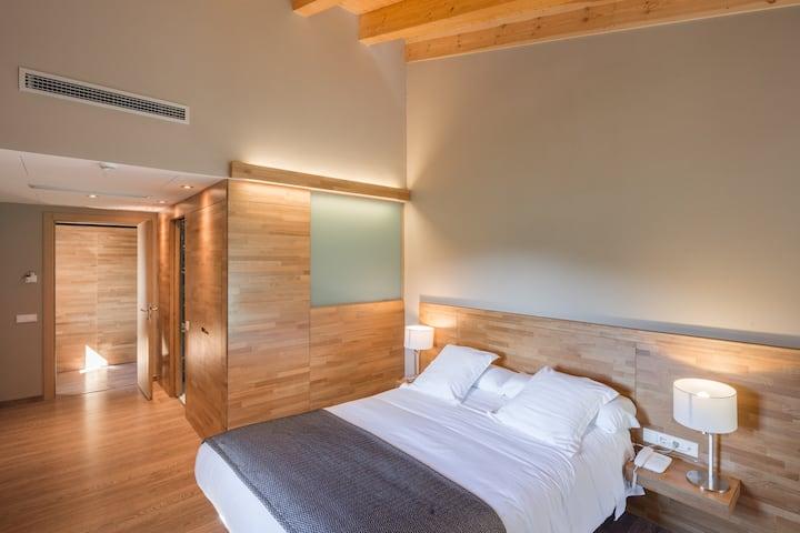 Habitación Doble Superior en masía hotel rural