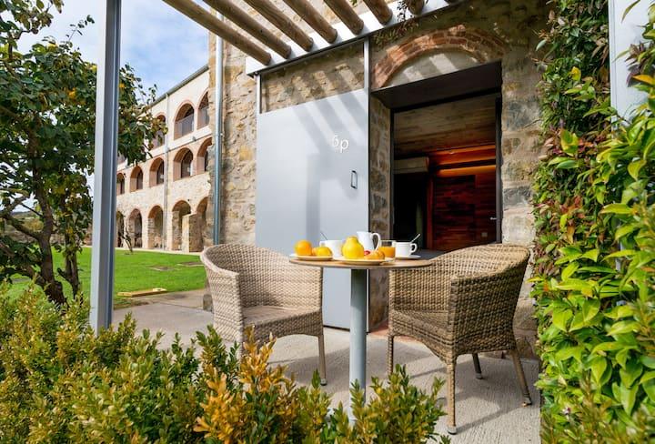 Habitación Doble con terraza en masía hotel rural