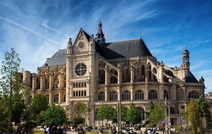 120m Elegant Montorgueil-Louvre