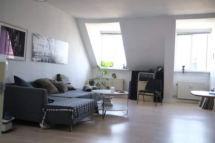 Rooftop apartment 10 min walk from center