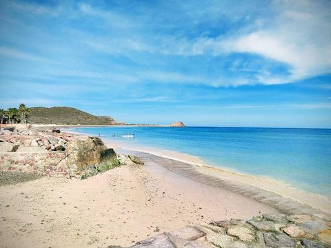 Bungalow #3 en Casa de Playa Cabo Pulmo