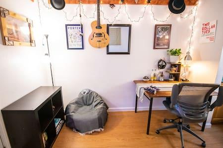 Musician's Studio Apartment