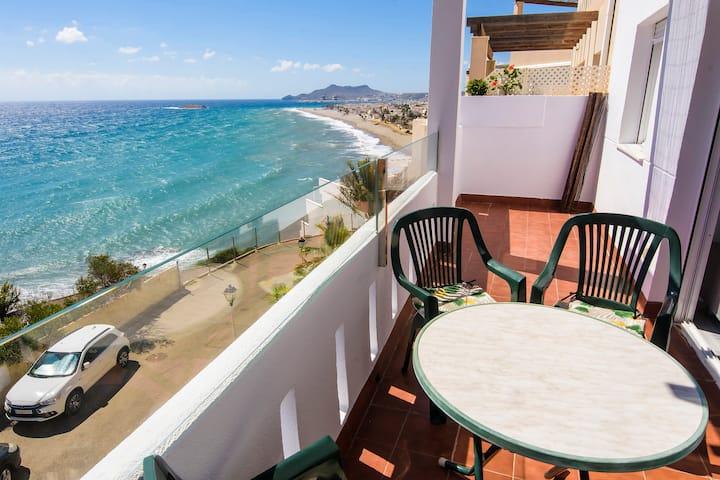 Apartamento con vistas al mar en Carboneras