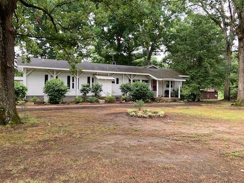 Quiet Country Home in Waxhaw on 10 acres.