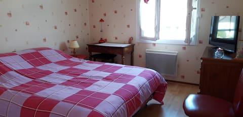 Villey St Etienne : maison avec véranda