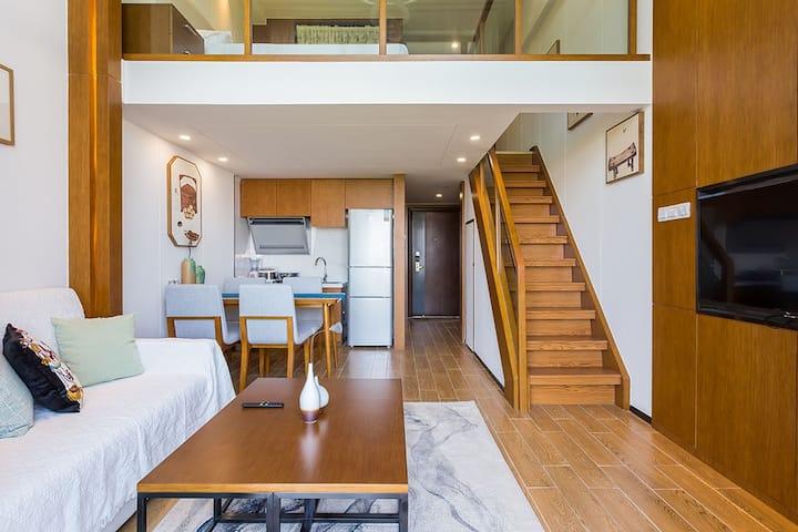 R1 海棠湾免税城附近-高档loft复式公寓
