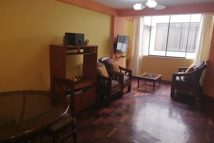 Alojamiento independiente y equipado