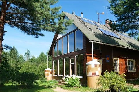 Дом на 10 чел.  в эко парк-отеле Миленки