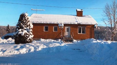 6-lôžková chata v Norra Värmland neďaleko Branäs