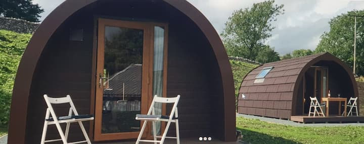 HOLLY - Malham Luxury Glamping Pod