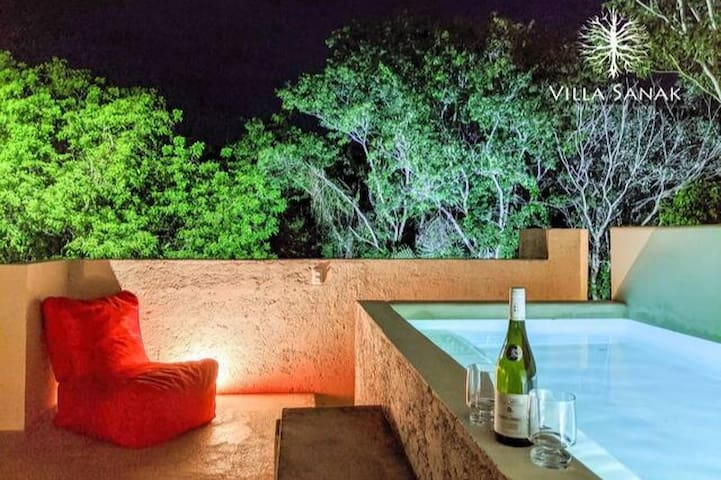 Sanak: Peaceful Villa with private pool on rooftop