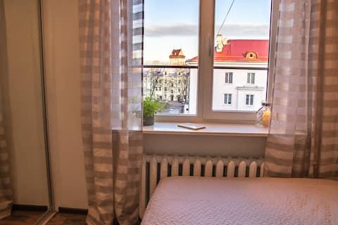 современная квартира в историческом центре