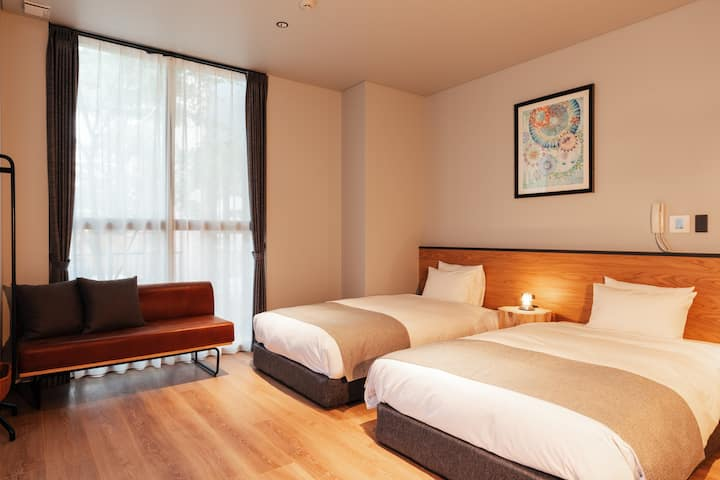 HOTEL KARUIZAWA CROSS / Twin room