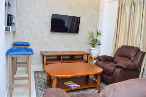 Suswa - Affordable Serviced 2 Bdr, Wifi, Smart TV
