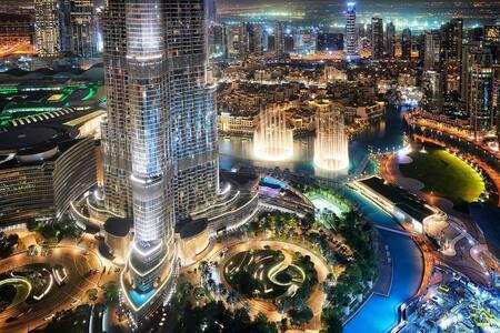 FIRST CLASS 1   3BR   Burj Khalifa & Fountain view
