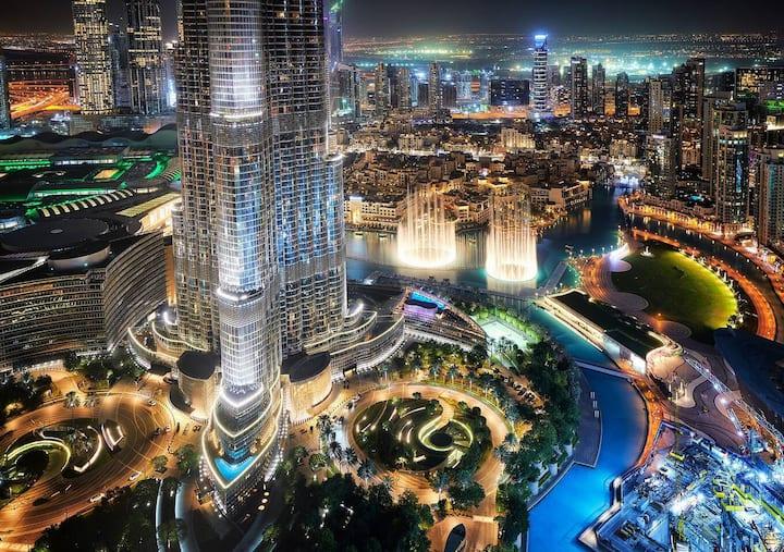 FIRST CLASS | 3BR | Burj Khalifa & Fountain view