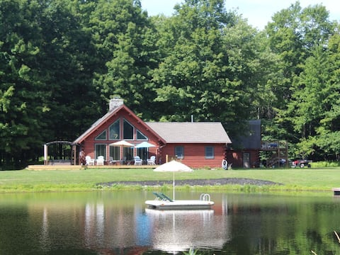 Your Secluded Country Oasis-70 Acres Private Lake