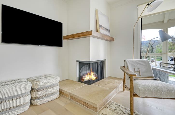 """Electric """"Faux"""" fireplace and heater"""