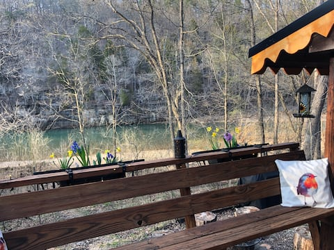 #ContemplationCabin on the Jacks Fork River!